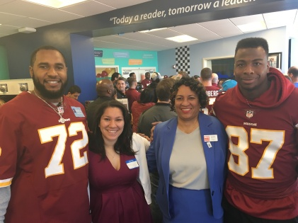 Redskins Give Back