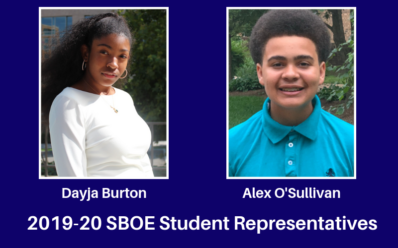 2019-20 Student Representatives