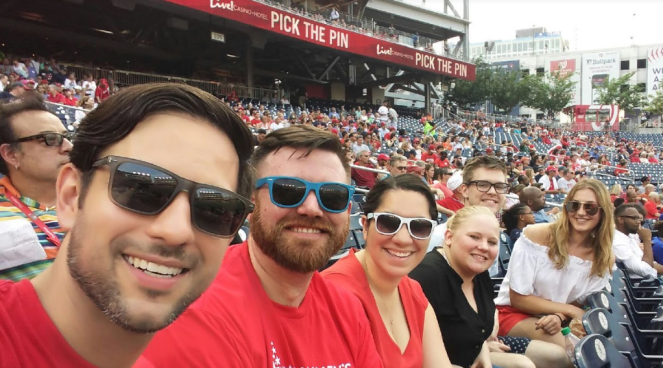 Staff Nats Game 2017